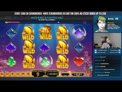 RECORD WIN! Golden Fishtank slot from Casino Livestream!