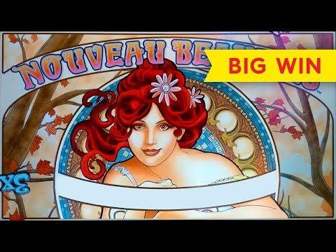 AWESOME RETRIGGER – Nouveau Beauties Slot – BIG WIN BONUS!