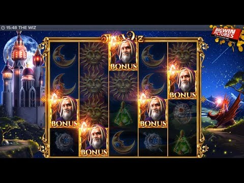 The Wiz Slot – 5 Scatters Free Spins Mega Win!