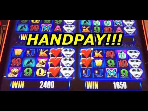 HANDPAY!  More More Hearts Slot Machine Mega Wins