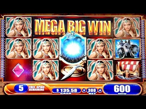 AMAZING MEGA BIG WIN ALEXANDER THE GREAT SLOT MACHINE BONUS BIG WIN