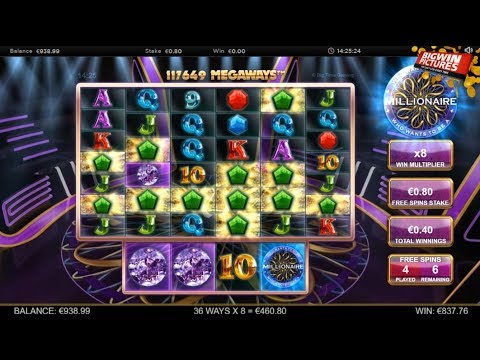 Who Wants to Be a Millionaire Slot +1200x BET MEGA WIN!