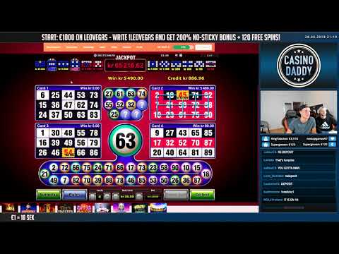 BIG WIN!!! BRUNO BINGO Huge win – Casino Games – free spins (Online slots)