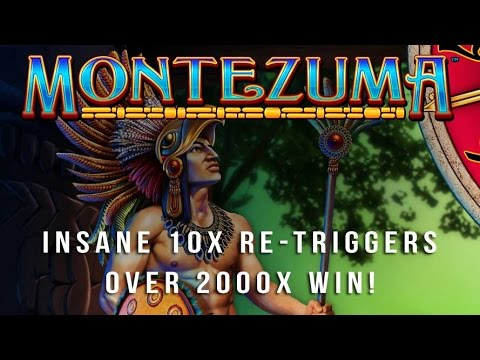Montezuma Slot – 10x Re-triggers – 2000x Big Win