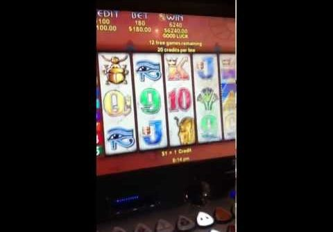 Betting Max $180 dollars a hit on poker machine –  big 10K + WINNNNN