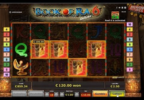 Book Of Ra 6 Slot +5000€ MEGA WIN!