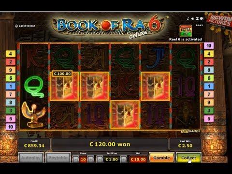 Book Of Ra 6 Slot +5000€ MEGA WIN!