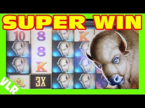 Double Buffalo Spirit – MAX BET SUPER BIG WIN – Slot Machine Bonus