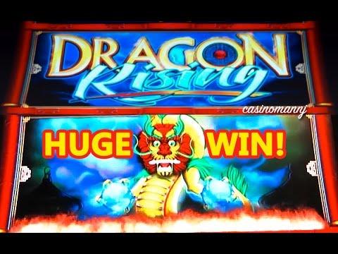HUGE WIN!!! – DRAGON RISING Slot – MAX BET!!!! – Slot Machine Bonus