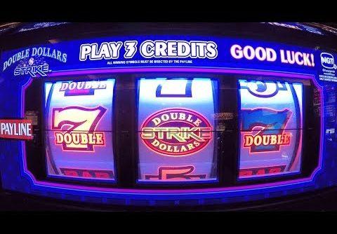 Double Dollars Strike Slot Machine BIG WINS & Live Play