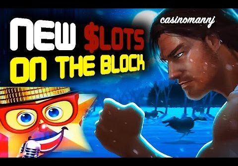 NEW SLOTS ON THE BLOCK – New Slot Machines – Big Win – Slot Machine Bonus