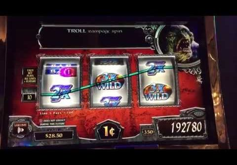 Lord Of The Rings Slot Machine Troll Bonus – Mega Win 622x Bet