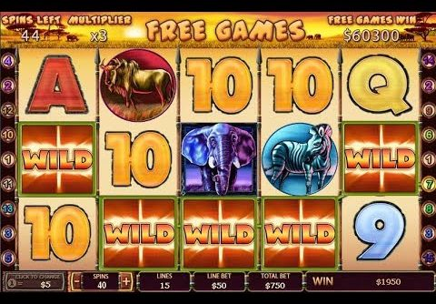 *MASSIVE WIN* SAFARI HEAT SLOTS # MEGA BIG WINS