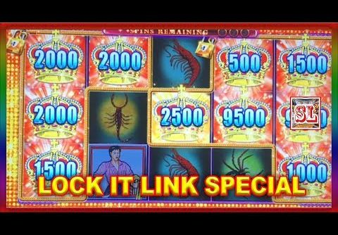 ** LOCK IT LINK SPECIAL with BIG WINs  ** SLOT LOVER **