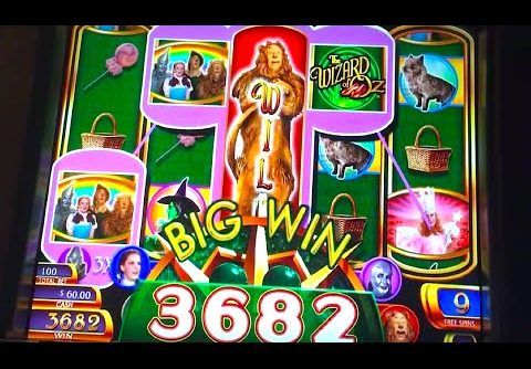 BIG WIN!!! SLOT CHICK/BRENT play Nickel RUBY SLIPPERS (MAX BET!)
