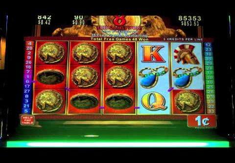 Konami – Roman Tribune Slot MEGA bonus win – SugarHouse Casino – Philadelphia, PA