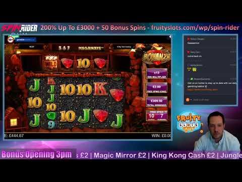 BONANZAAAAAAA!! MEGA BIG WIN! (Online Slots)