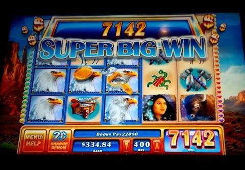 Great Eagle II Slot – $8 Max Bet Bonus – Super Big Win!