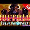 💎💎💎 I GOT THE BIGGEST ONE! 💎💎💎 Buffalo Diamond SLOT MACHINE W/ SDGuy1234