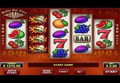 MEGA WIN!! – My Risk Game On Bells On Fire Rombo Slot Machine