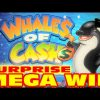 Whales of Cash – SURPRISE MEGA BIG WIN – Slot Machine Bonus