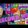 RECORD WIN!!! SUPER MEGA BIG WIN ON JAMMIN JARS – Huge Win from CASINO LIVE STREAM (MUST SEE)