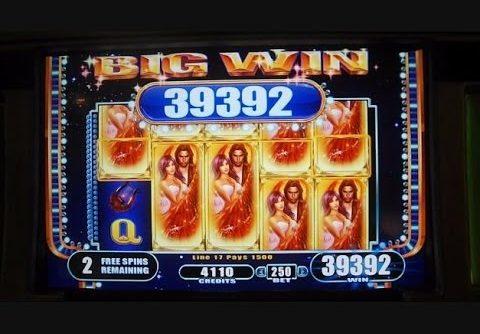 Fallen Angels MEGA BIG BIG HUGE WIN MAX BET Slot Machine Bonus Round + MASSIVE RETRIGGERS Free Games