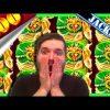 JACKPOT HAND PAY! MASSIVLY EPIC SLOT MACHINE WINS on Konami Slot Machines W/ SDGuy1234