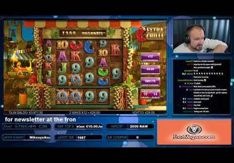 Big Win From Extra Chilli Slot!!