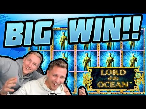 MEGA WIN!!!! Lord Of the Ocean BIG WIN – HUGE WIN on Novomatic slot from CasinoDaddy