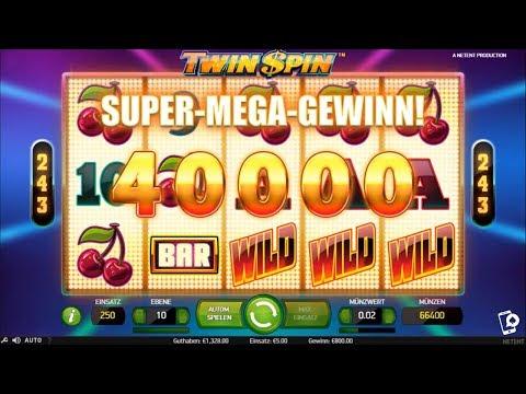 🍒 500€ vs. Twin Spin 🇩🇪 Super Mega Win Challenge 🎰