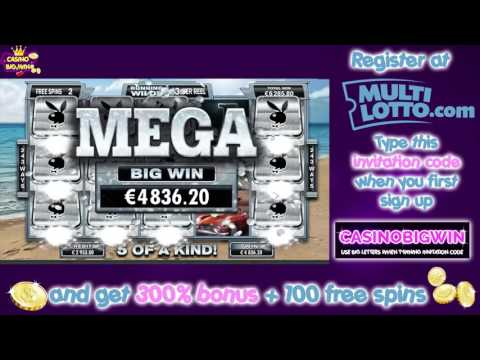THE BIGGEST WIN EVER IN PLAYBOY CASINO SLOT – AMAZING 38.340 EURO