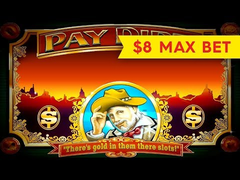 HUGE WIN! Pay Dirt Slot – $8 Bet – AWESOME BONUS, ALL FEATURES!