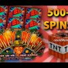 Money Blast Slot – 500+ FREE SPINS! – BIG WIN! – Slot Machine Bonus