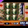 £370.20 MEGA BIG WIN (291 X STAKE) AMAZON QUEEN ™ BIG WIN SLOTS AT JACKPOT PARTY