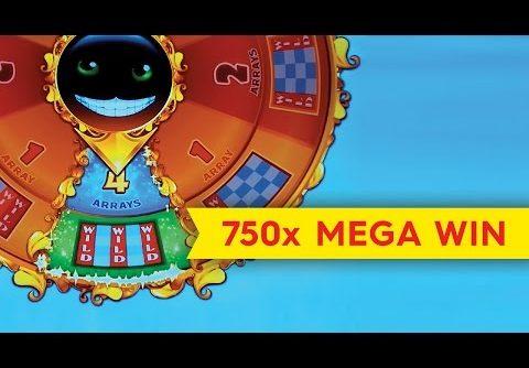 Cheshire Cat Slot – 5 Symbol Trigger – MEGA BIG WIN!