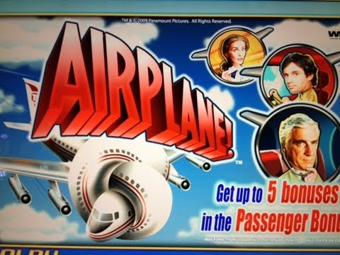 AIRPLANE : 5c DENOM – SUPER BIG WIN – WMS SLOT MACHINE