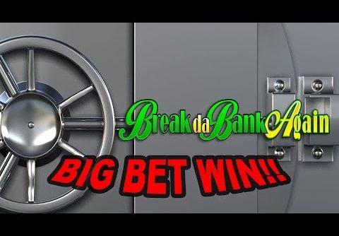 BIG WIN on Break da Bank Again Slot – £9 Bet!!