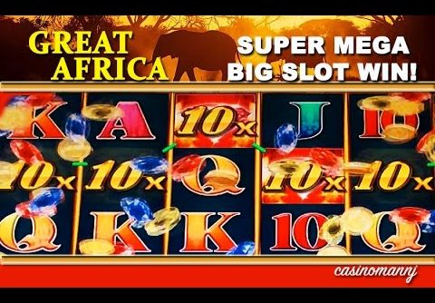 Great Africa Slot  – **SUPER MEGA BIG SLOT WIN** – Slot Machine Bonus