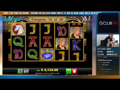 RECORD WIN Online Slot – MAGIC MIRROR Big Win and bonus round