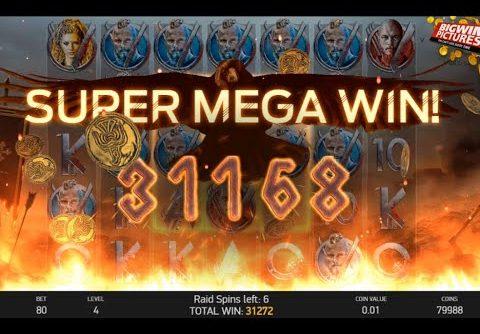 Vikings Slot NetEnt –  MEGA BIG WIN!