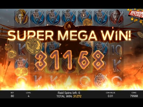 Vikings Slot NetEnt –  MEGA BIG WIN!