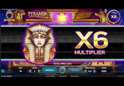 Pyramid Slot Super Big Win – NetEnt