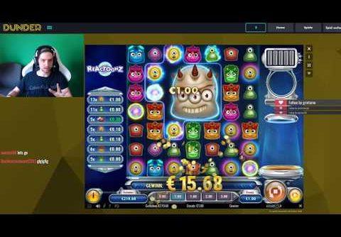 Reactoonz slot Big Win Compilation | Great Wins on Reactoonz