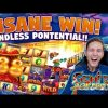 MEGA WIN! Genie Jackpots BIG WIN – HUGE WIN – Casino games (Online slots) from LIVE stream
