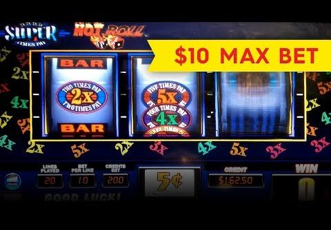 Hot Roll Super Times Pay Slot – BIG WIN, SHORT & SWEET!