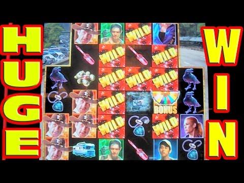 The Walking Dead * MEGA BIG WIN * Slot Machine HUGE Wild Attack Hit