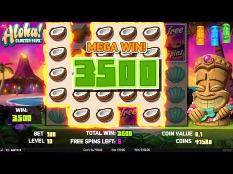 Aloha Slot Machine at CloudCasino.com MEGA WIN + FREE SLOTS SPINS