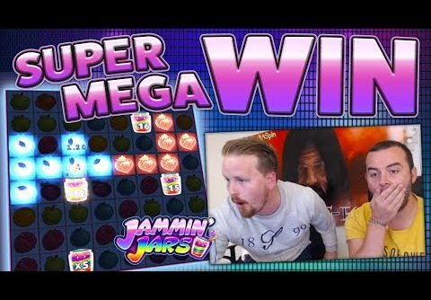 SUPER MEGA WIN – JAMMIN' JARS