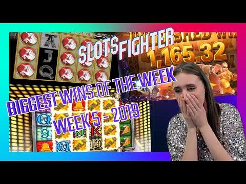 A Whole Week Of Annie MAKING BANK!!! – BIGGEST SLOTS WINS WEEK 5